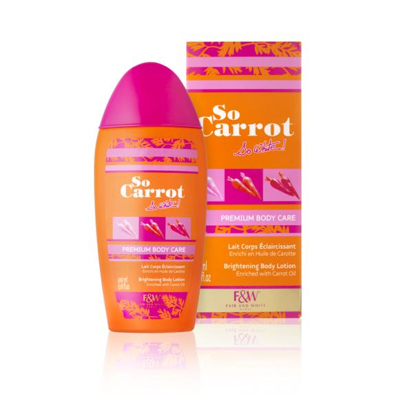 Premium Body Care - Brightening Body Lotion | So Carrot !
