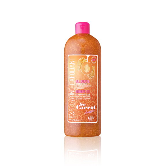 Exfoliating Shower Gel  | So Carrot